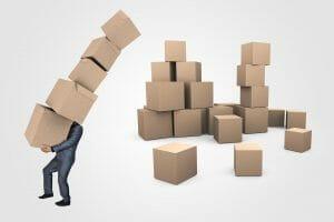 Archive box Destruction